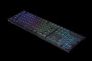 Игровая клавиатура TESORO GRAM Spectrum XS ультра низкопрофильная (black/ blue)