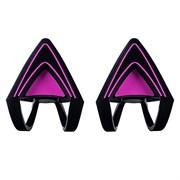 Насадки-ушки для наушников Razer Kitty Ears for Kraken (Neon Purple)