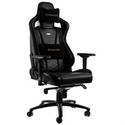 Игровое Кресло Noblechairs EPIC (NBL-PU-GOL-002) PU Leather / black/gold