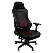 Игровое Кресло Noblechairs HERO (NBL-HRO-RL-BRD) Real Leather / black/red