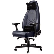 Игровое Кресло Noblechairs ICON (NBL-ICN-RL-MBG) Real Leather / midnight blue/graphite