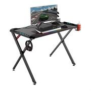 Стол для компьютера (для геймеров) Eureka X1 S, чёрный