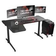 Стол для компьютера (для геймеров) Eureka L60, чёрный