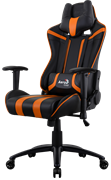 Игровое Кресло Aerocool AC120 AIR-BO black/orange