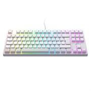 Игровая механическая клавиатура Xtrfy K4 RGB Tenkeyless WHITE Edition