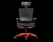 Кресло компьютерное игровое Cougar ARGO Black-Orange