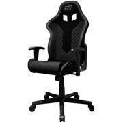 Компьютерное кресло DXRacer NEX EC/OK01/N Черный, текстиль+экокожа