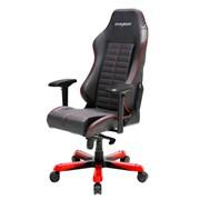 Компьютерное кресло DXRacer OH/IS188/NR Черный, красный, натуральная кожа