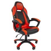Кресло компьютерное Chairman game 20 черный, красный