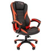 Кресло компьютерное Chairman game 22 черный, красный
