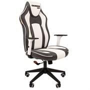 Кресло компьютерное Chairman game 23 черный, белый