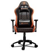 Кресло компьютерное игровое Cougar RAMPART black orange