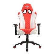 Кресло компьютерное игровое ZONE 51 СПАРТАК ГЛАДИАТОР, White-Red