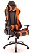 Игровое кресло Lotus S2 Экокожа Черный/оранжевый