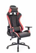 Игровое кресло Lotus S11 Экокожа Черный/красный