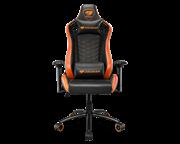 Кресло компьютерное игровое Cougar OUTRIDER S Black-Orange