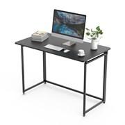 Складной письменный стол (для компьютера) EUREKA ERK-FT-43B с шириной 109 см, Черный