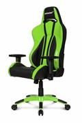 Игровое Кресло AKRacing PREMIUM Plus (AK-PPLUS-GN) black/green