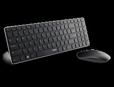 Комплект беспроводная клавиатура и мышь Rapoo X9310, Black